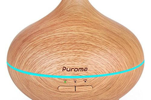 Puroma 150ml Aromatherapy Essential Oil Diffuser Wood