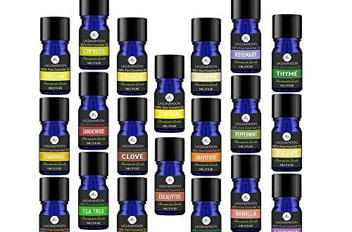 Essential Oils Set Aromatherapy Top 20 Essential Oils Set 5ml Oil