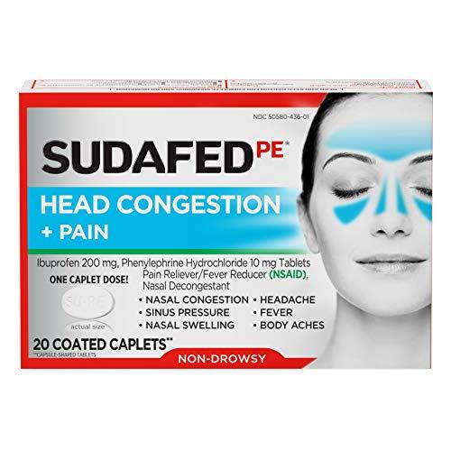 Vicks Sinex Severe Sinus Pressure, Pain, Congestion, And